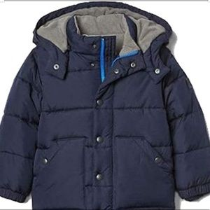Gap Toddler Navy Puffer Coat